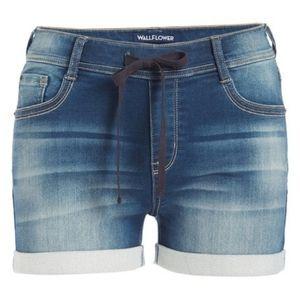 Wallflower Stretch Jean Shorts
